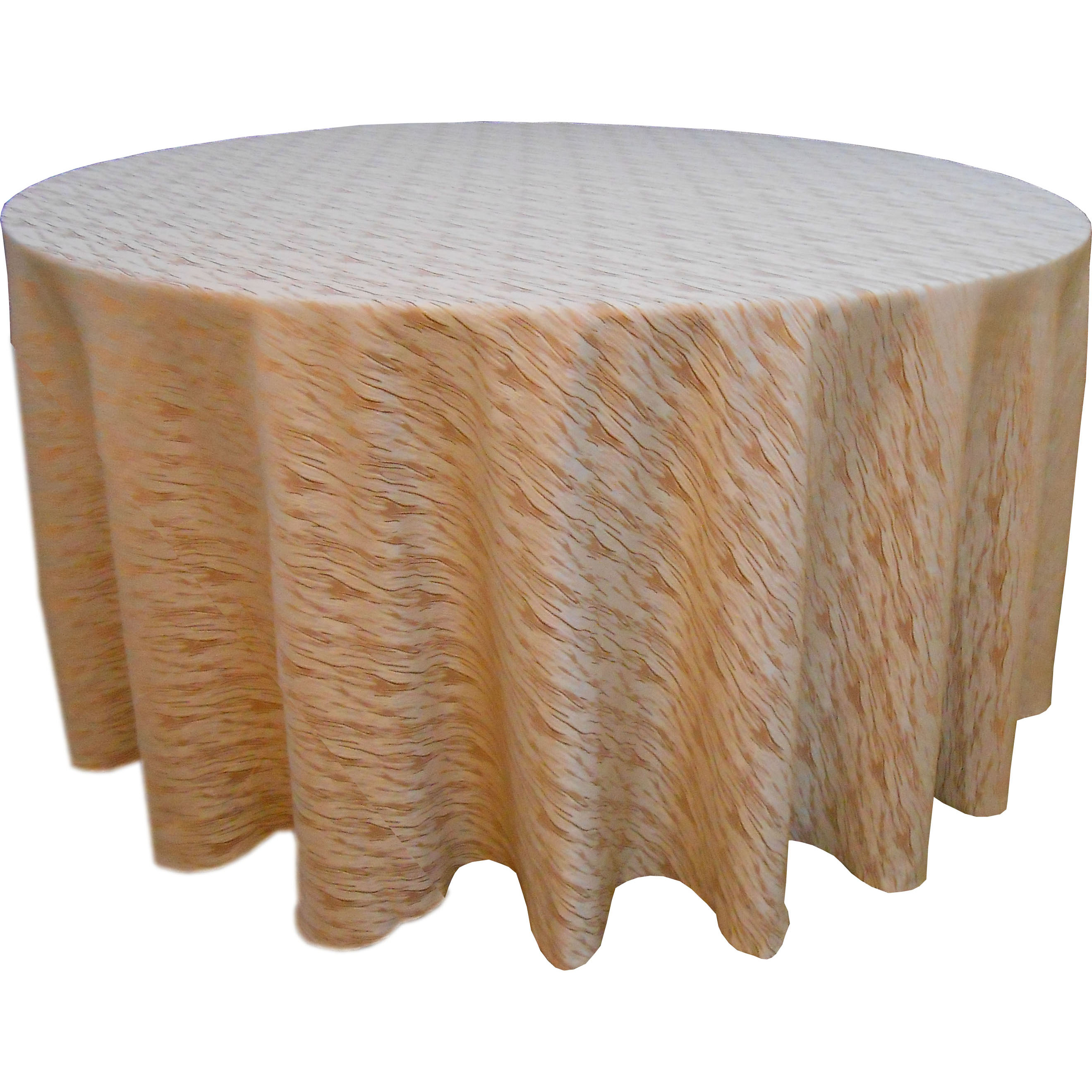 Light Brown Table Cloth 100% Polyester