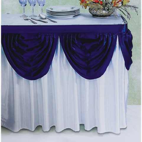 Superieur Table Skirt, Table Skirting Austrian Valance A Design